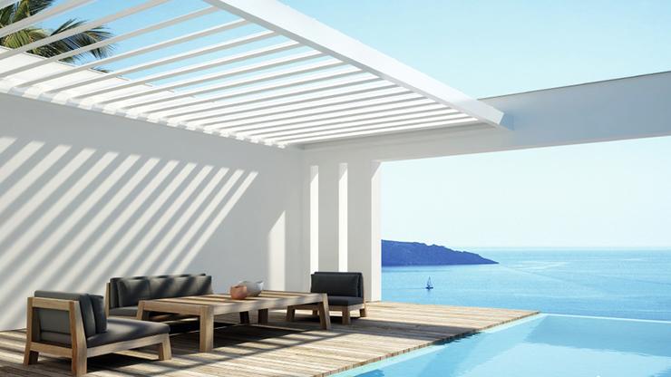 Lames orientables - Algarve Roof