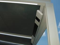 CHauffage et système audio d'une pergola bioclimatique