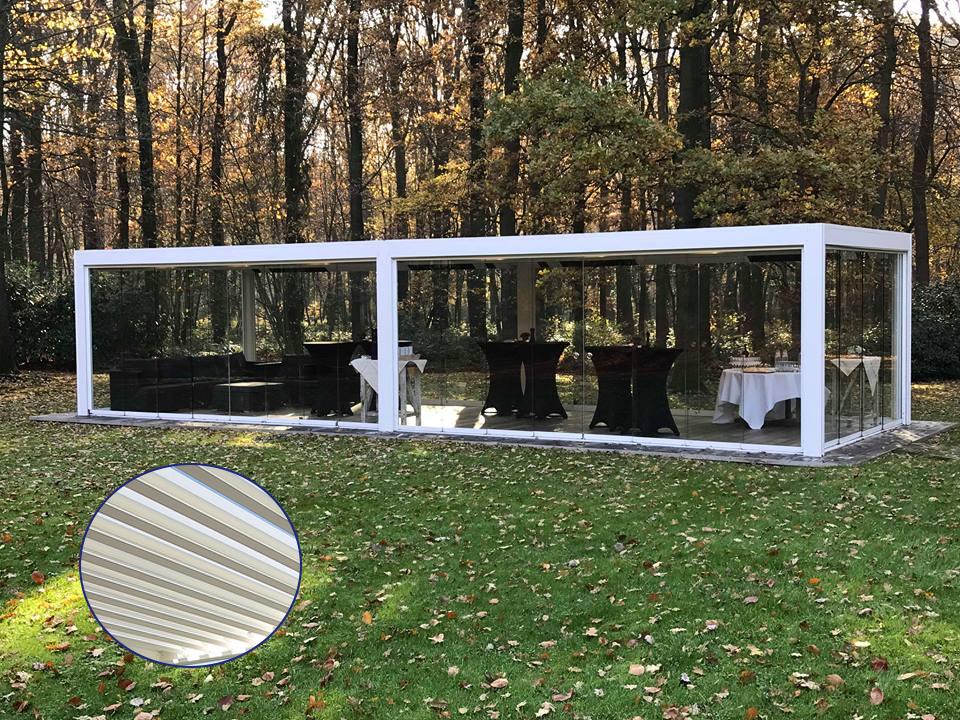 pergola bioclimatique en hiver portaix pergolas. Black Bedroom Furniture Sets. Home Design Ideas