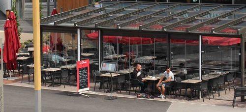 """""""Résultat de recherche d'images pour """"toiture terrasse rétractable en verre à bordeaux"""""""""""